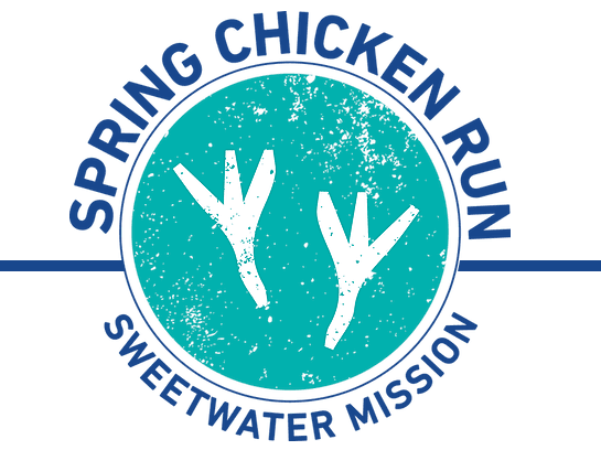 Spring Chicken Run Logo